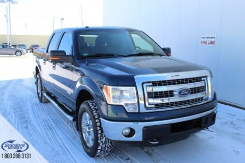 Pre-Owned 2013 Ford F-150 4WD Crew Cab Pickup