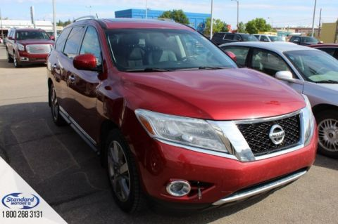 Pre-Owned 2014 Nissan Pathfinder 4WD Sport Utility